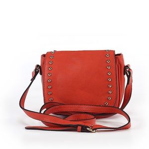 Mossimo Orange Crossbody Bag with Studs